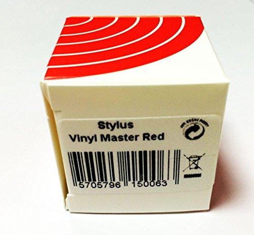 Ortofon - Stylus Vinyl Master Red - Aguja para tocadiscos