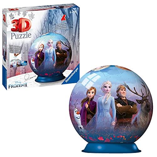 Ravensburger Frozen 2 3D Puzzle Ball, Multicolore, 11142