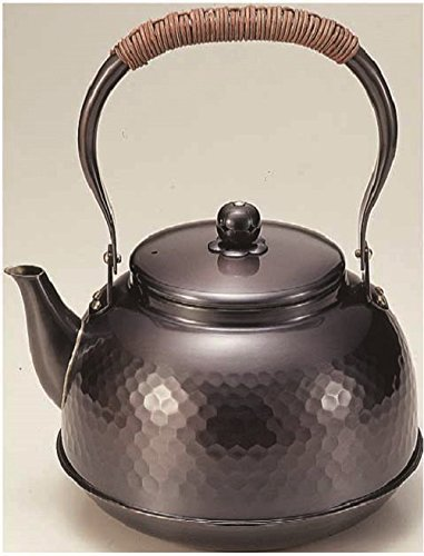 Pure copper kettle 2.3L Tsuchime black copper finish BC-7