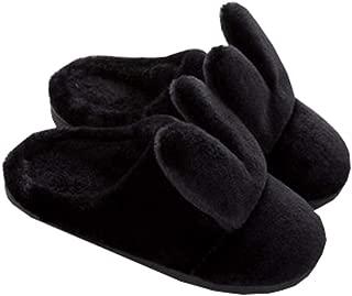 [QIFENGDIANZI] ルームシューズ スリッパ レディース メンズ うさぎ柄 かわいい もこもこ おしゃれ 洗える あったか 滑り止め 男女兼用 春秋冬 防寒 抗菌 防音 脱ぎ履きやすい 冷え対策 北欧 冬小物 室内履き 来客用