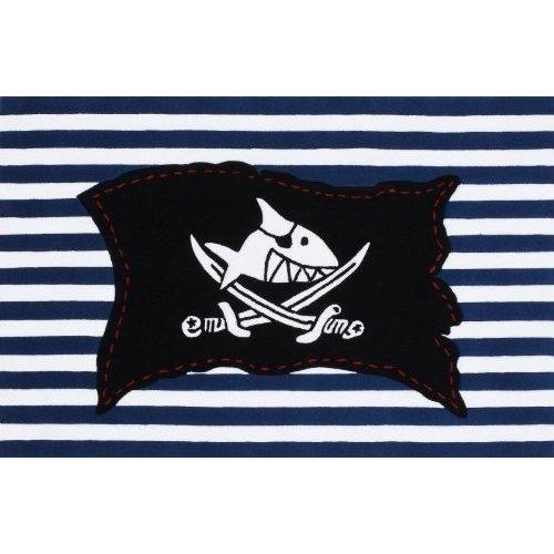 Böing Carpet SH-2367-02 Teppich Capt`n Sharky - Flagge 110x170