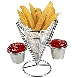 HUAXIONG alta qualità del supporto friggere francese V Antipasto Coni Tabella Craft Antipasto Coni, Chip Chip Cesti, titolari, antipasto cestini Presentazione, Chip Cone