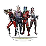 Cyberpunk 2077 Johnny Silverhand Variant Figura de Acción Personaje Stand, Luz de Noche Pequeña,P