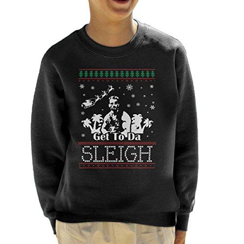 Predator krijgen naar de slee kerst Knit kind Sweatshirt