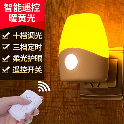 Light Table Lamp Plug in Sleep Baby Feeding Lamp dimming afstandsbediening bed nachtlamp