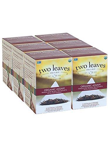 Two Leaves & A Bud Assam Breakfast Tea ( 6x15 BAG) by Two Leaves and a Bud