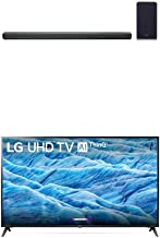 """$1646 » LG SL10YG 5.1.2 Channel High Res Audio Sound Bar and Alexa Built-in 70"""" 4K Ultra HD Smart LED TV (2019)"""