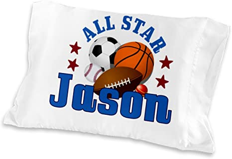 American Football Microfiber Personalized Pillowcase