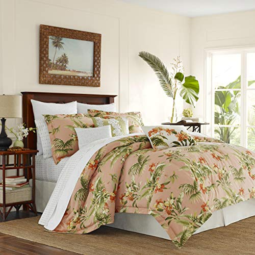 Tommy Bahama Siesta Key Comforter Set, King, Cantaloupe