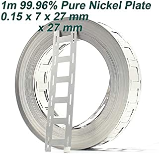 Kamas 1M 99.96% Pure Nickel Plate Strap Strip Sheets for 18650 cell Battery welding nickel plate