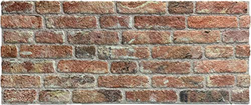 Wandverkleidung in Steinoptik für Schlafzimmer, Wohnzimmer, Küche und Terrasse in Klinkeroptik Look. (ST 351-112)