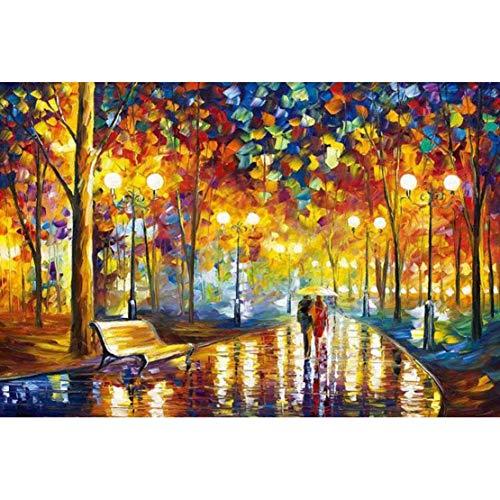 Fun-PT Puzzle 300/500/1000/1500/2000/3000/5000/5700 Pezzi for Adulti e Bambini, Mondo Famoso Dipinto di Van Gogh Girasole Pesca Port Pittura a Olio della Mano del DIY (Color : C, Size : 2000 PCS)