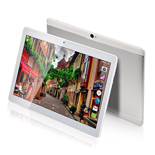 MaiTai Tablet PC 10 Inch Android 7.0 2560 * 1600 Tablets PC Octa Core Dual SIM Card Phone Call GPS Bluetooth 64 G Rom 4 G RAM 8 9 7 3 G + WiFi Silvery