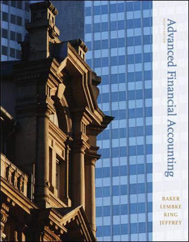 Advanced Financial Accounting, 8th Edition