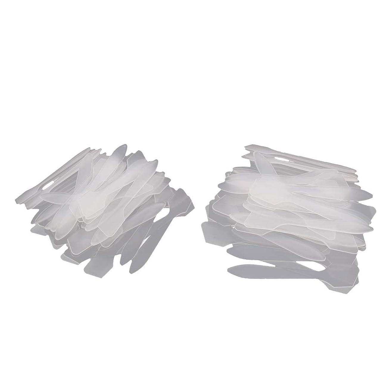 スピーチセクタローストCUTICATE 化粧品 マスクスティック マスクスプーン フェイスマスクスプーン パチュラ スプーン 使い捨て