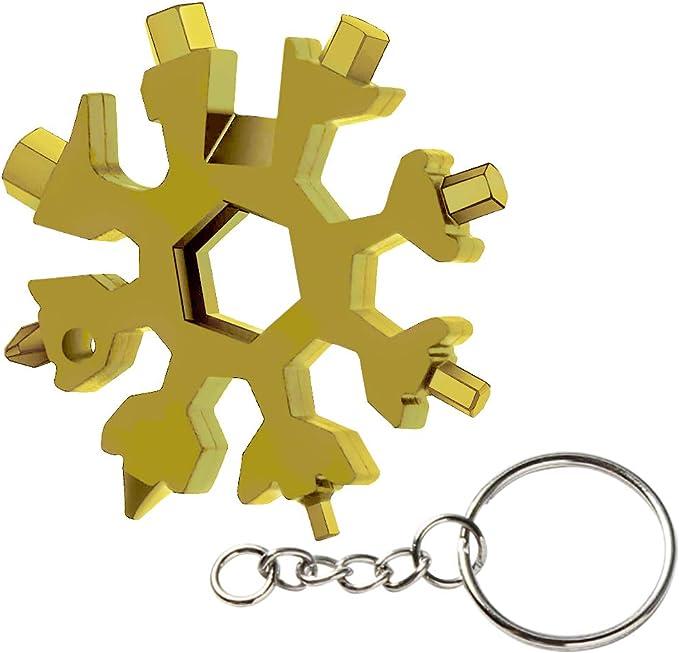 181 opinioni per 18 in-1 Multi-Tool Snowflake, ZoneYan Multi-Tool in Acciaio Inox
