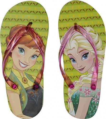 Disney Frozen Die Eiskönigin Flip Flops Strandschuhe, Motiv:Frozen, Größe:33/34
