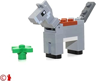 LEGO MiniFigure - Max the Minecraft Donkey Animal (with Plant) 21144