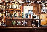 SYKKYS Puzzles 1000 Piezas Puzzles Rompecabezas de Cerveza de Barril de Whisky de Botella de Pub irlandés Local Infantiles Juguetes educativos del hogar Regalo