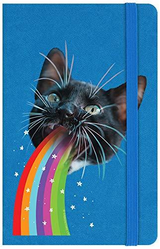 Notizbuch Hardcover Psychedelic Sick Kit A6 9 x 14 cm blau