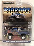 1974 Ford F-250 Monster Truck Bigfoot #1 The Original Blue with Flames Limited Edition to 4,600 Pieces Worldwide 1/64 Diecast Model Car by Greenlight 51282