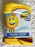The Emoji Movie Plush Throw Blanket
