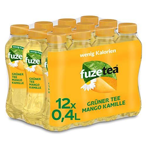 Fuze Tea Mango Kamille, EINWEG Flasche (12 x 400 ml)