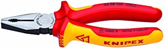 KNIPEX Tools Knipex 03 08 160 SBA Combination Pliers 1000V Insulated