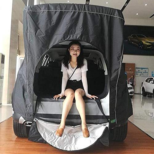 Dongbin Zelt Für 2 Personen, Fahrzeug/Auto Vorzelt, Freistehend Autozelt Kofferraum, Dreidimensional, Wasserdicht Und Feuchtigkeitsbeständig, Atmungsaktiv, Leicht Zu Tragen,anpassbar,D