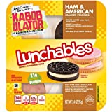 OSCAR MAYER LUNCHABLES HAM & AMERICAN CHEESE WITH CRACKERS 3.2 OZ PACK OF 5