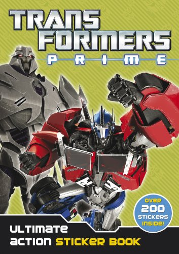 Transformers Prime: Ultimate Action Sticker Book