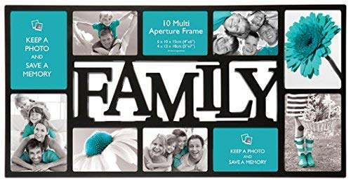 Anker Multi-Aperture Family Photo Frame to Fit 10 Photos by Anker
