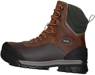 BOGS Men's Bedrock Shell 8-inch Composite Toe Waterproof Work Construction Boot