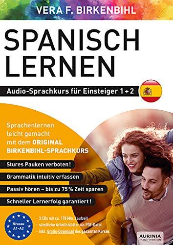Spanisch lernen für Einsteiger 1+2 (ORIGINAL BIRKENBIHL): Audio-Sprachkurs auf 3 CDs inkl. Download