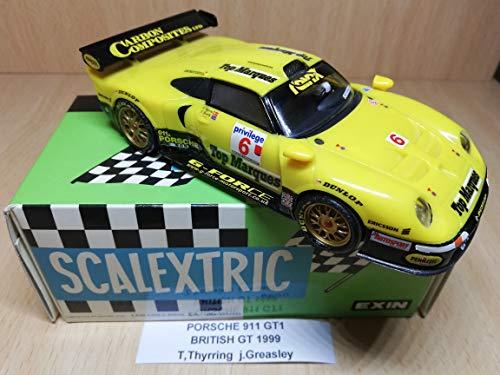 Scalextric Ferrari f-40 le Mans 1996 Ferte, Thevanin, Palau Coleccion Altaya Miticos