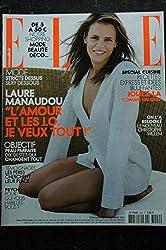 ELLE 3229 19 novembre 2007 Laure MANAUDOU Cover + 8 p. - Christophe Willem - Norah Jones - 196 p. Fashion Vintage