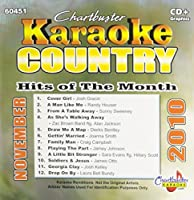 Karaoke: Country Hits of Month - November 2010