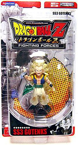 Dragon Ball Z Fighting Forces SS3 Gotenks Action Figure image