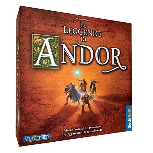 Giochi Uniti-Le Leggende di Andor, Set Base Gioco, Multicolore, GU063