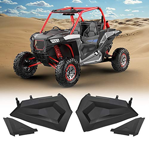 """kemimoto Lower Half Door Inserts Panels with OEM Style Frame Replacement Compatible with 2014-2021 Polaris RZR S 900 XP 1000 Turbo 60"""" Models (2 DOORS)"""