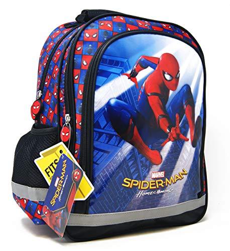 51HUIgb5sbL - Marvel Spider-Man – Mochila escolar – 38 x 28 x 18 cm – Apto para DIN A4 – Diseño: Spiderman – para escuela, deporte + ocio + Puzzle On the Go