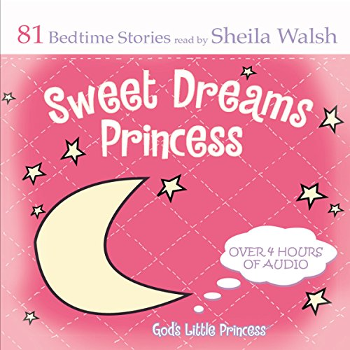 Sweet Dreams Princess audiobook cover art