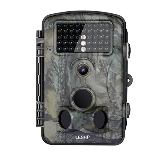 Elepawl Hunting Trail Game Camera, 16MP Wildlife Motion Activated Camera Cam with 120°Infrared...