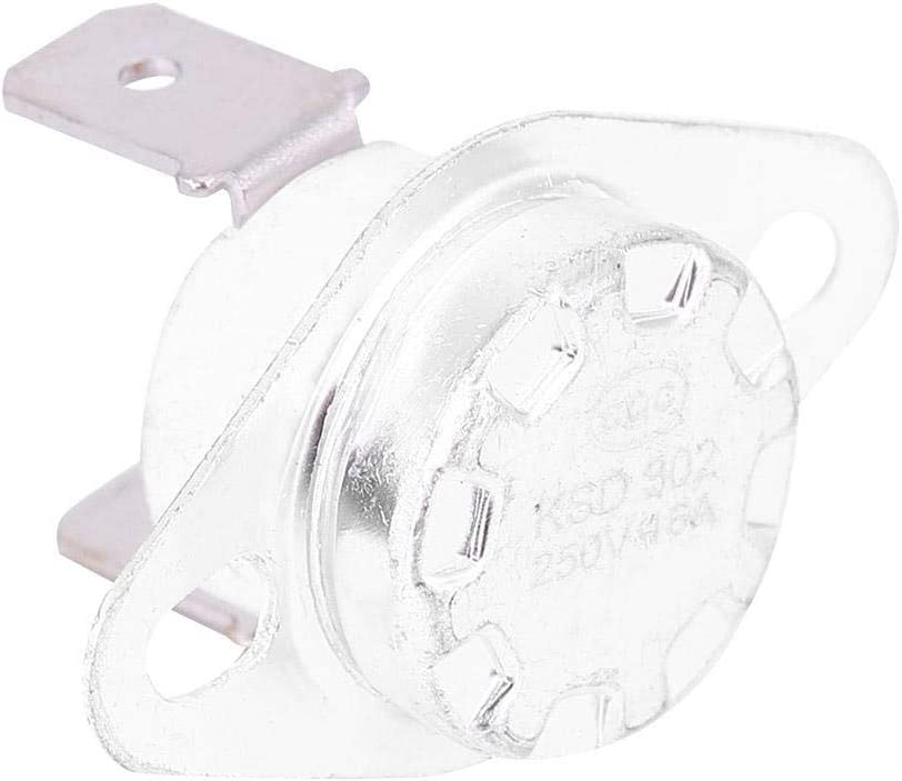 Fafeicy KSD302 Switch Temperature Control Thermostat Thermal Switch Normally Closed 250V16A 40℃
