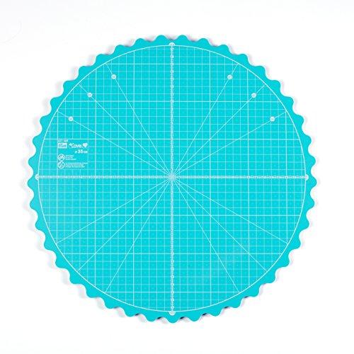 Prym Love - Esterilla de Corte giratoria (35 cm, 7 x 5 x 3 cm), Color Verde
