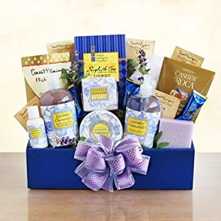 Givens and Company Lovely Lavender Relaxation Spa Gift Basket
