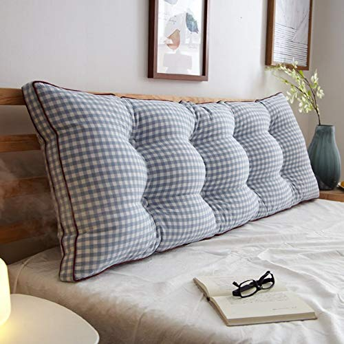 J-Kissen Triangle Bett liest Rückenkissen Kissen, zurück Keilkissen Kissen Tagesbett Polsterkopfteil Abnehmbarer waschbarer Bezug (Color : P, Size : 20x50x60cm(8x20x24inch))