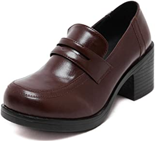 Women's Girl's Lolita Low Top Japanese Students Maid Uniform Dress Shoes Oxford Shoes
