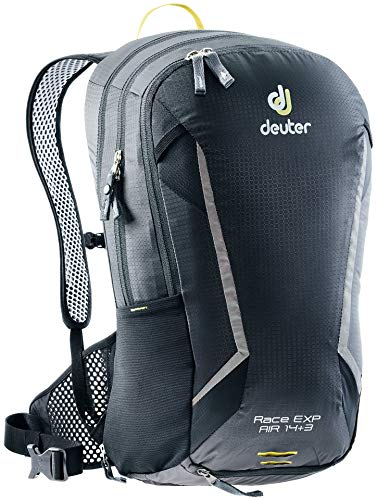 Deuter Race EXP Air 3 Wanderrucksack, Black, 46 x 26 x 18 cm, 14+3 L