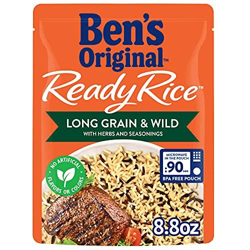 UNCLE BEN'S Ready Rice: Long Grain & Wild with Herbs & Seasonings
